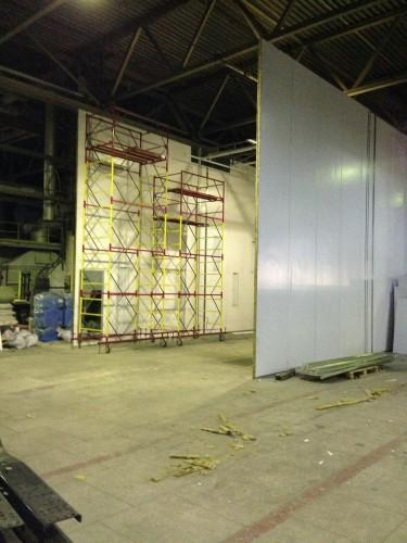 Окрасочно-сушильная камера для грузовых автомобилей ИВЕКО г Миасс