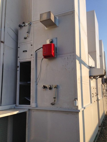 Покрасочно-сушильная камера в уличном исполнении для цистерн и вагонов SPK-18x6x6 г. Партизанск