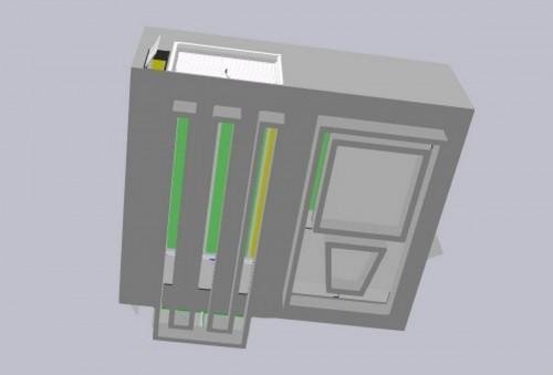 Окрасочно-сушильная камера для кабин электровозов SPK-16x14x5 Россия