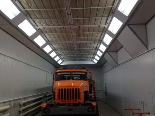 Промышленная покрасочная камера для грузовиков и автобусов SPK-18.5.6