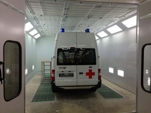 Модернизация покрасочной камеры для СпецАвтоТранспорта Автодом г Ульяновск
