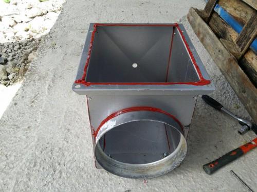 Покрасочно-сушильная камера для с/х техники в г. Кокшетау, Казахстан