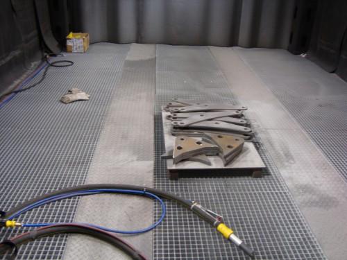 Комплекс для подготовки и покраски дорожно-строительной техники SPK-34.5.4