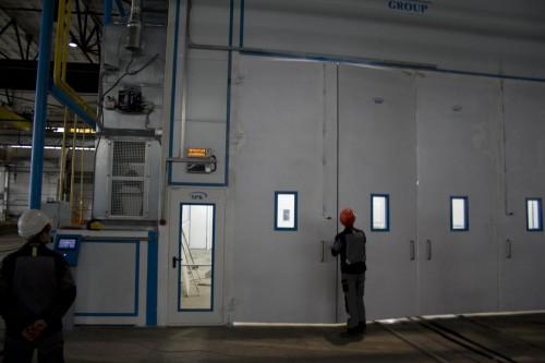 Окрасочно-сушильная камера для трубопроводов SPK-15.8.6, г. Челябинск