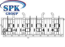 ОКРАСОЧНО-СУШИЛЬНАЯ КАМЕРА ТУПИКОВОГО ТИПА для вагонов и локомотивов SPK-32.7.7 РОССИЯ