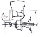 Включение и ввод параметров балансировочного станка CB1448 TROMMELBERG
