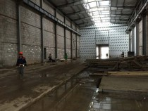В Астане на Заводе по производству локомотивных двигателей GEVO стартовало строительство моечной камеры