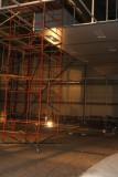 В Астане проводится возведение стен окрасочно-сушильной камеры для воздушных судов
