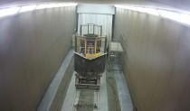 В дробеструйной камере SPK осуществляется обработка поверхности ж/д техники