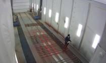 Online окраска металлоконструкций в камере SPK