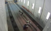 Покрасочно-сушильная камера для железнодорожной техники в г. Екатеринбург