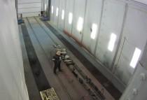 Камера окраски для жд платформ