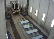 Окраска железнодорожных вагонов
