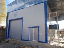 Подходит к завершению строительство окрасочно-сушильной камеры SPK в г. Кириши Ленинградской области