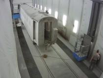 Этапы подготовки к покраске железнодорожных вагонов