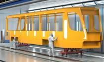 Проект оснащения покрасочного производства для вагонов трамваев в нашем новом видео