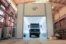 Для подготовки и покраски грузовых автомобилей камеры от SPK GROUP  лучшее решение!