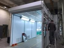 Новый реализованный проект SPK GROUP - окрасочная линия для корпусов систем кондиционирования для ж/д транспорта в г.
