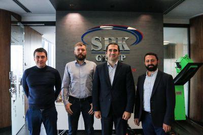 Коллеги из Dalgakiran Kompresor посетили с рабочим визитом офис SPK GROUP