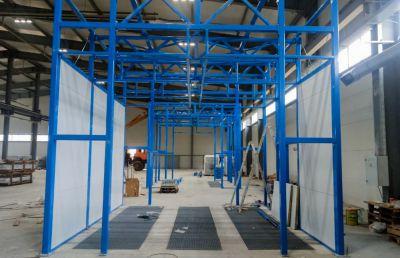В Миассе стартовало строительство комплекса для подготовки и покраски поверхности деталей для машиностроительного предприятия.