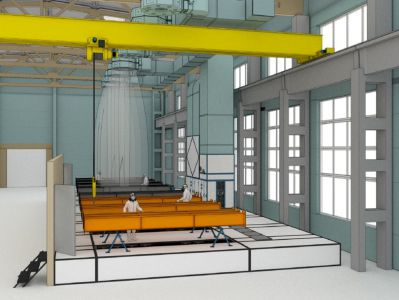 Данный проект зоны открытой окраски разработан для предприятия-производителя металлоконструкций, на котором уже установлена и успешно функционирует зона открытой окраски SPK.
