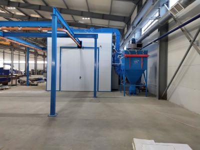 Близится к завершению монтаж комплекса подготовки и покраски изделий для машиностроительного предприятия в Миассе.