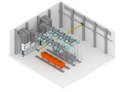 Проект - решение для производителя цистерн для химически агрессивных жидкостей.