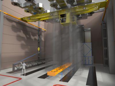 Проект зоны предназначен для организации покрасочного производства для строительных металлоконструкций.