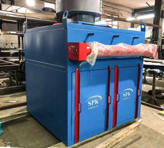 На производстве: новая модель вентиляционно-фильтровальной установки для дробеструйной камеры