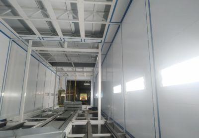 SPK ведет строительство окрасочно-сушильной камеры для каркасов кабин грузовых автомобилей в Набережных Челнах.