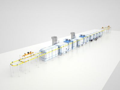 Конвейерные покрасочные линии становятся все более востребованными, если речь идет о потоковой обработке изделий.