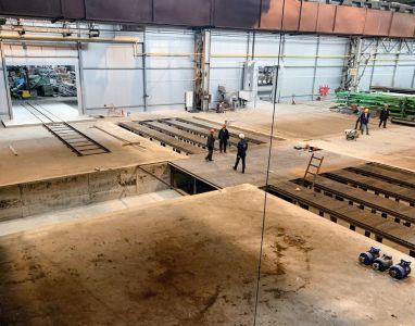 Начато строительство Комплекса подготовки и окраски SPK для производителя стальных конструкций в Тверской области