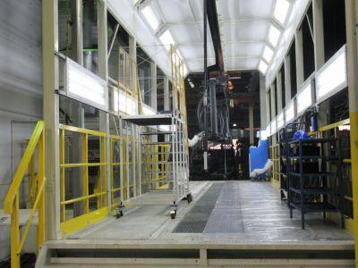 Линия SPK для подготовки поверхности, покраски, растекания и сушки для рам грузовых автомобилей