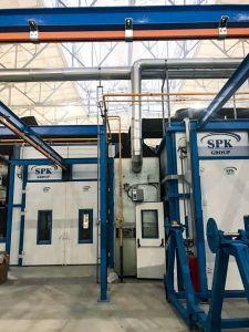 Близится к завершению монтаж покрасочного комплекса SPK в Твери