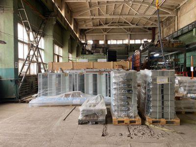 Отгрузка партии оборудования для зоны открытой окраски с нашего склада