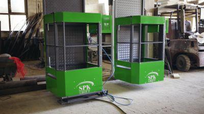 В производстве партия 3D-лифтов для окрасочно-сушильной камеры