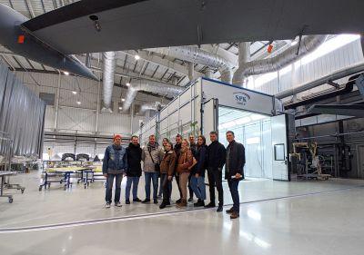 SPK GROUP на Уральском заводе гражданской авиации