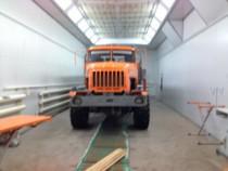 Промышленная покрасочная камера для грузовых автомобилей