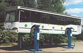 Подкатные колонны для грузовиков пр-во Россия