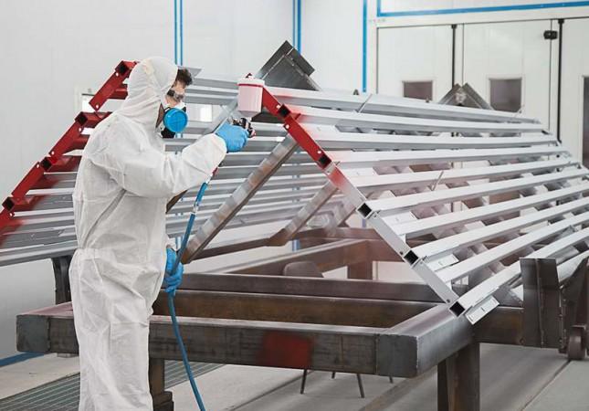 Производство окрасочно-сушильных камер для металлоконструкций