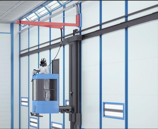 Лифтовые площадки для шлифовальных работ