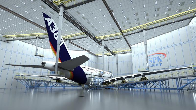 Покрасочные производства для авиации
