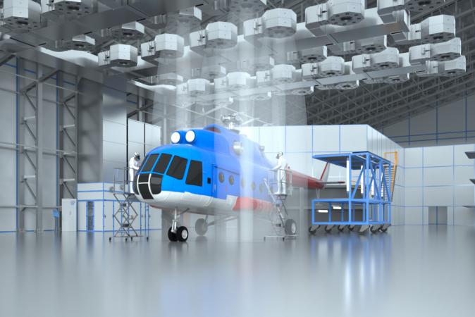 Зоны открытой окраски для авиации