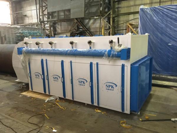 Вентиляционно-фильтровальная установка для дробеструйной камеры ВФУ 200.06 от 27.11.2020
