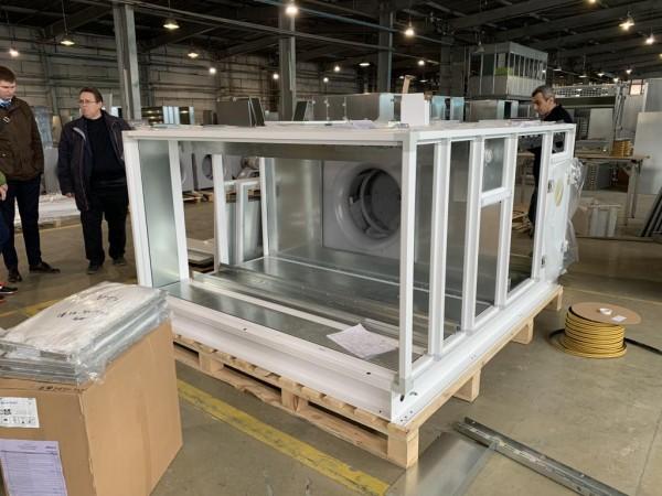 Производство вентиляционного агрегата для организации воздухообмена от 24.04.2019