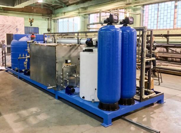Производство оборудования подготовки раствора для камеры фосфатирования SPK от 16.01.2020