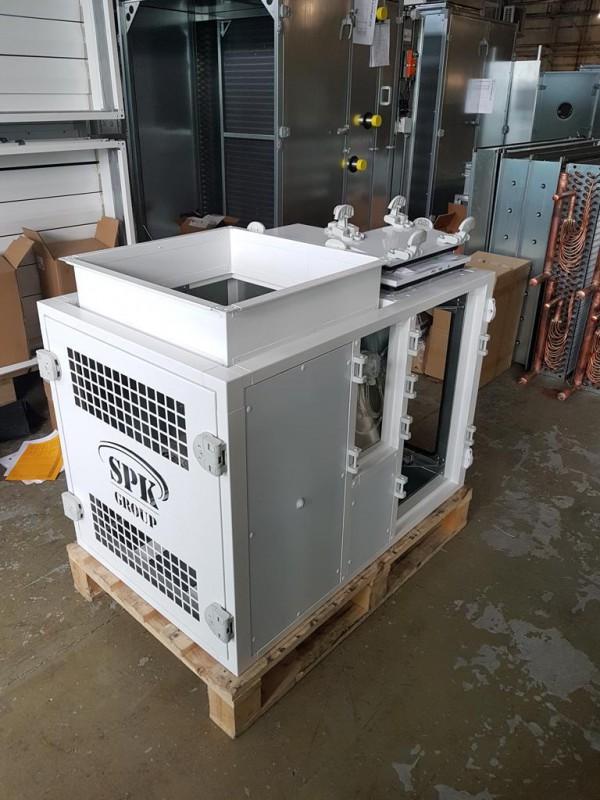 Производство вентиляционного агрегата SPK от 16.12.2020