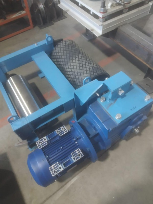 С производства системы сбора дроби для дробеструйно-окрасочной камеры для судостроения SPK от 24.12.20