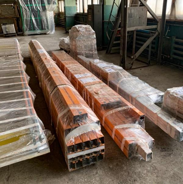 С производства направляющих для ручного подвесного конвейера для линии окраски изделий SPK от 01.02.2021