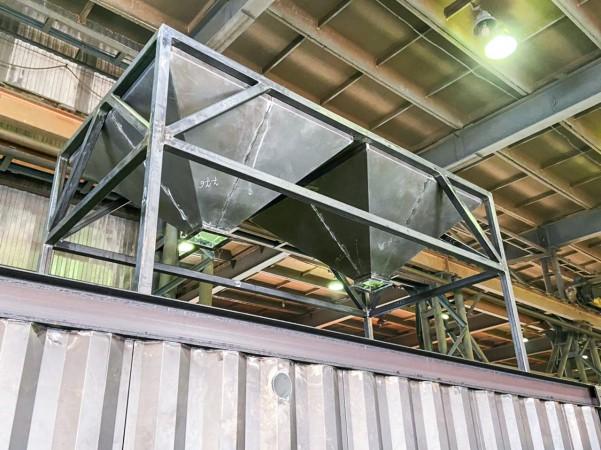 Производство вентиляционно-фильтровальной установки ВФУ 200.06 для дробеструйной камеры SPK от 05.03.21